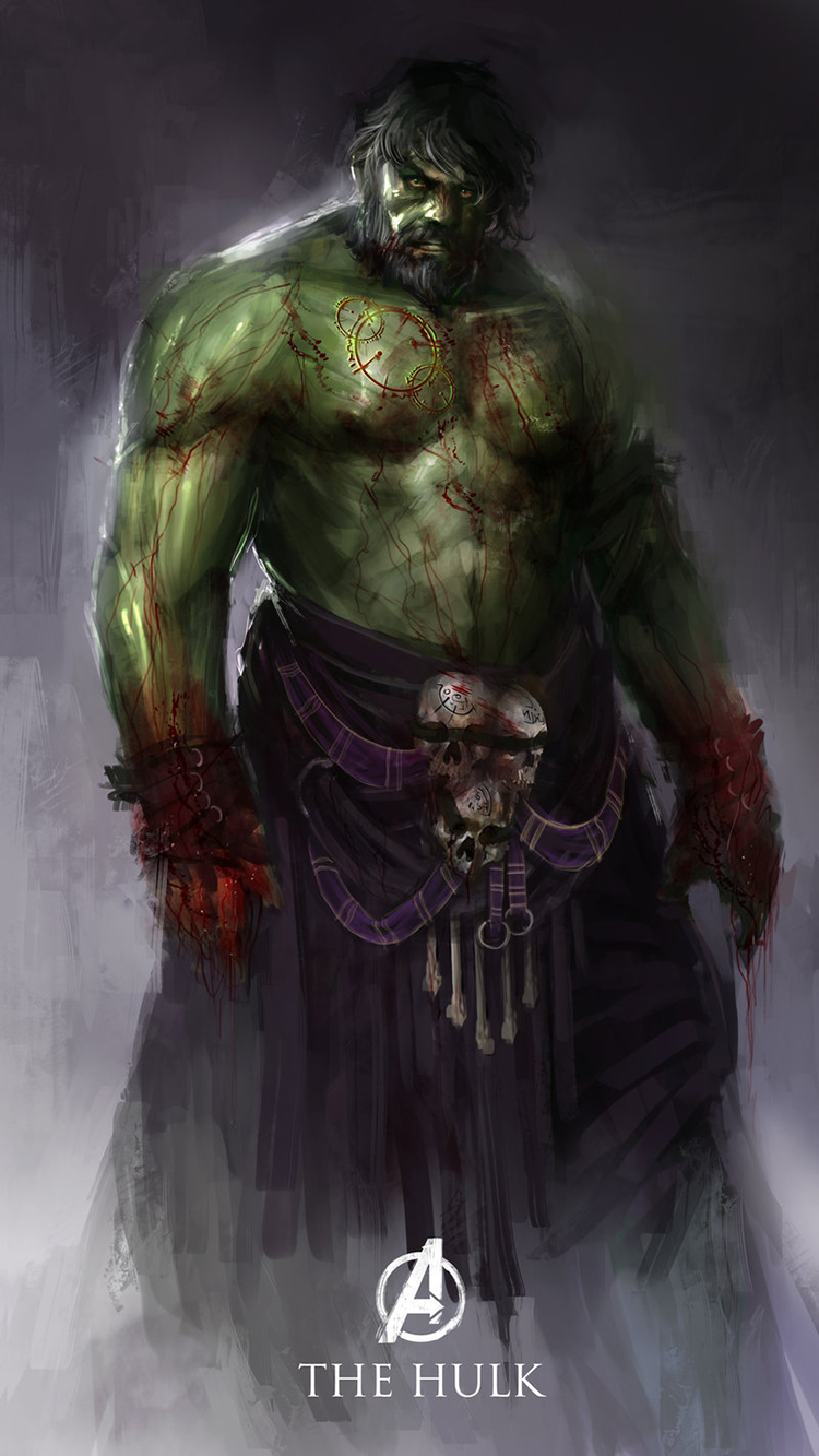 Hulk the Bloodied Titan