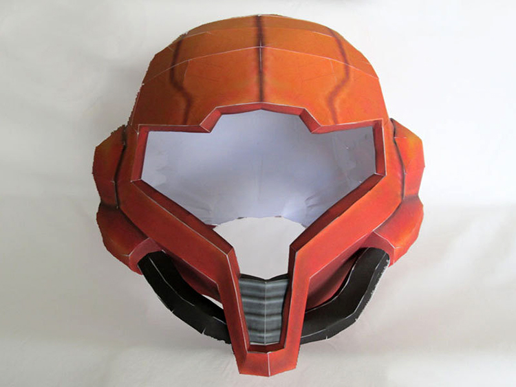 Metroid Papercraft Pattern