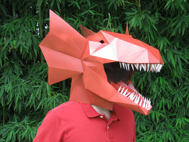 Fantastic Papercraft Mask Patterns