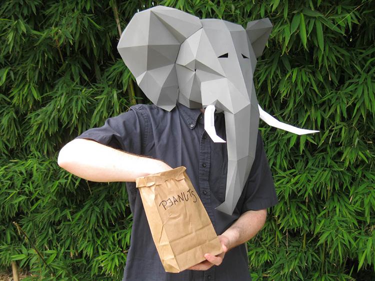 Elephant Mask