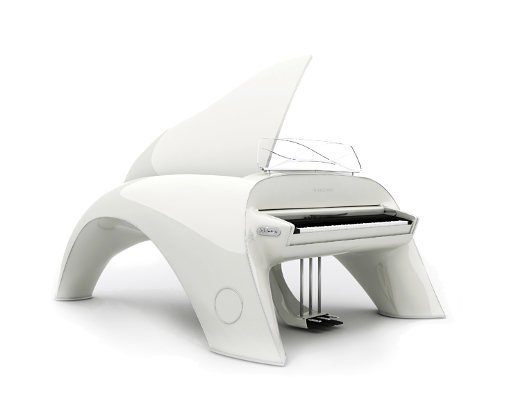 whaletone white piano side
