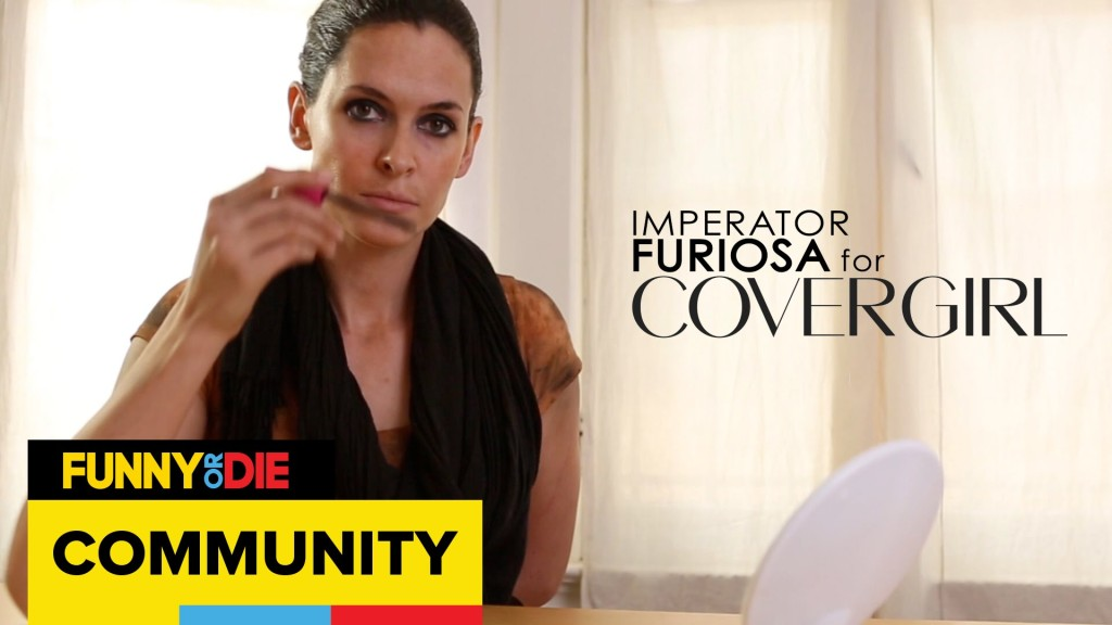 Imperator Furiosa From 'Mad Max: Fury Road' Stars in a Trio of Campy Ads for Cover Girl, Tampax, and Nuvaring