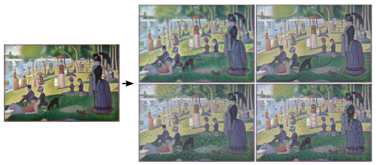 neural network sunday in the park