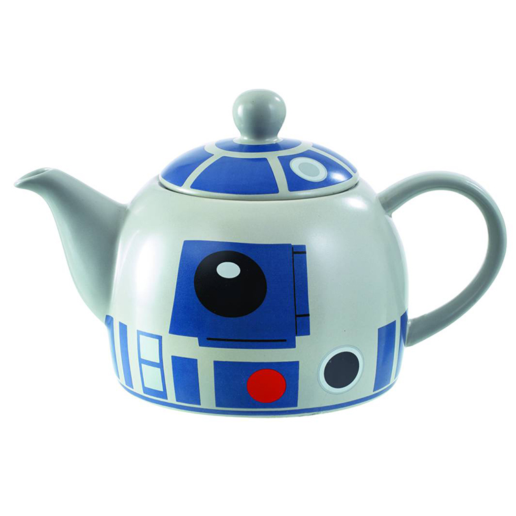 A 'Star Wars' Teapot That Looks Like R2-D2