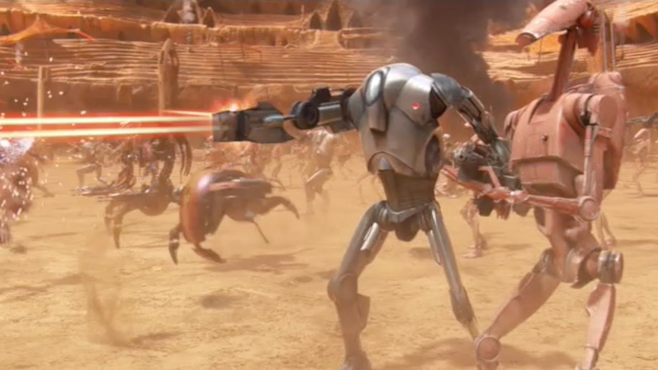 Some of the Greatest Laser Gun Battles in Movies