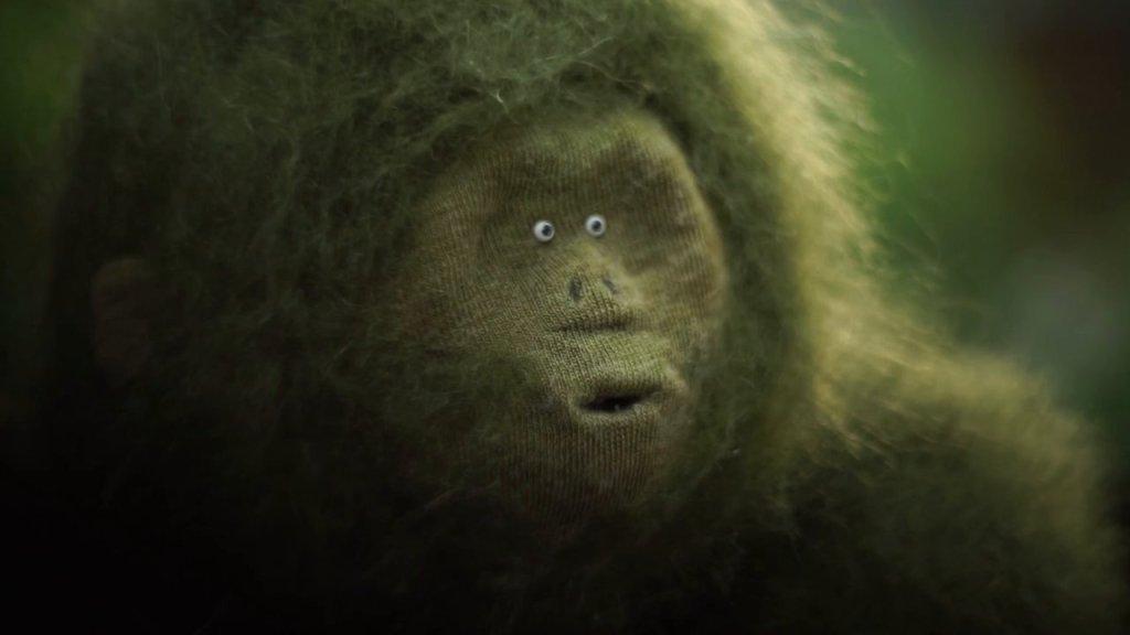 'The Garden Ape', A Short Film Featuring a Mystical Ape Discovering a Wild Garden