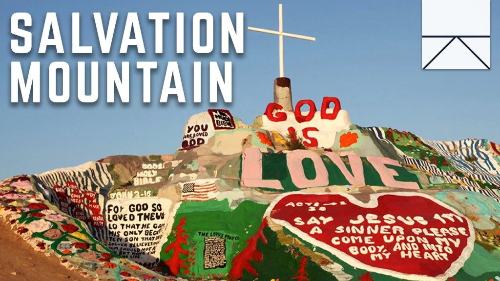The Moving Story of a Visit to Salvation Mountain, An Enormous Art Installation in the California Desert