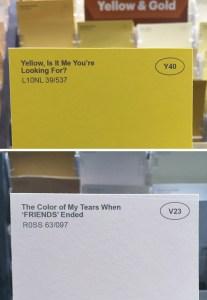 Renamed Paint Colors