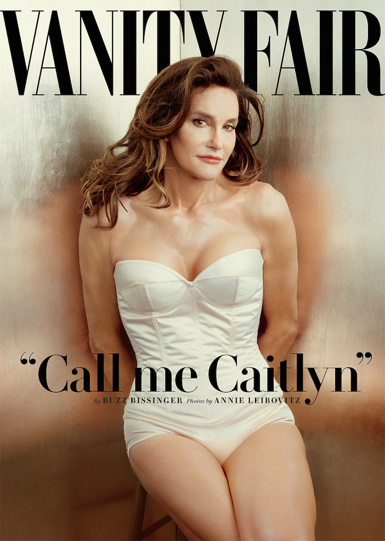 Former Olympian Bruce Jenner Makes Her Photo Debut as Caitlyn Jenner on the Cover of Vanity Fair