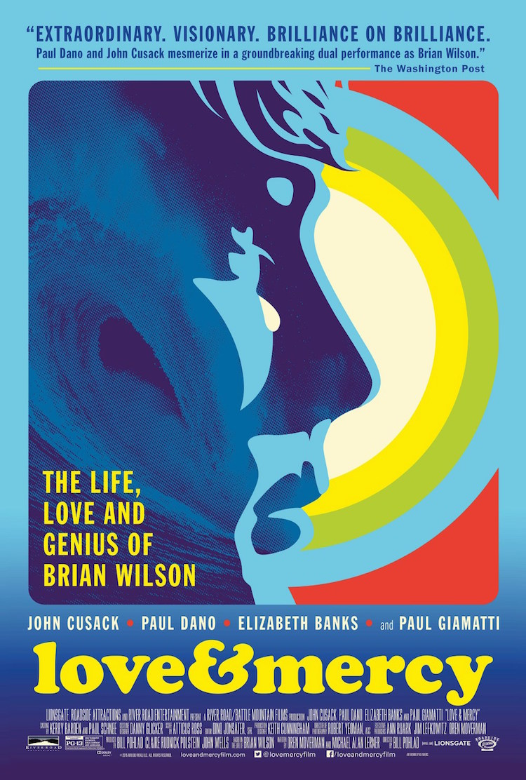 'Love & Mercy', A New Biopic That Uses Two Actors to Portray the Fractured Life Story of Brian Wilson