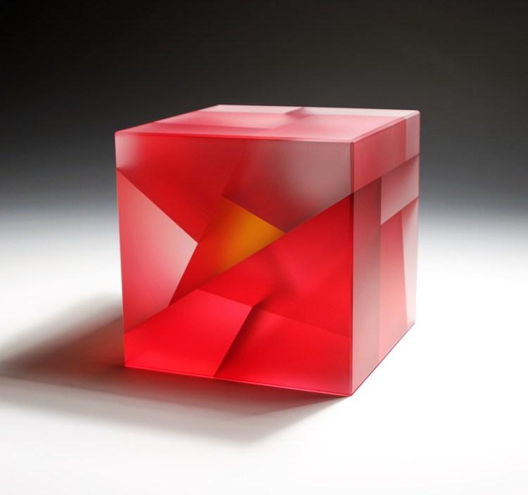 Red orange core cube segmentation