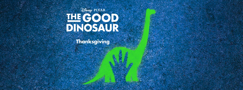 Pixar Posits a World in Which Dinosaurs Still Exist in the First Trailer for the Upcoming Film 'The Good Dinosaur'