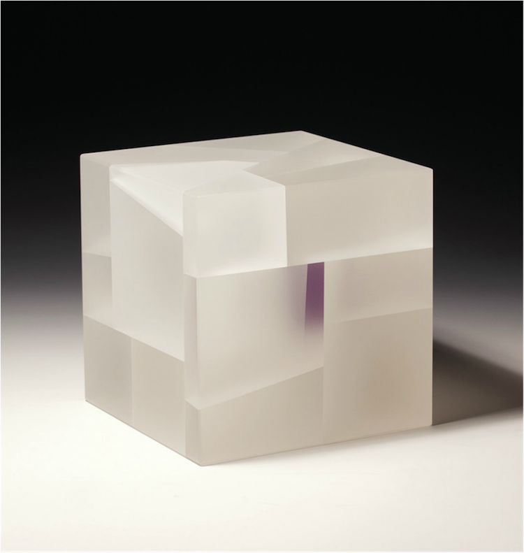 White-purple cube segmentation