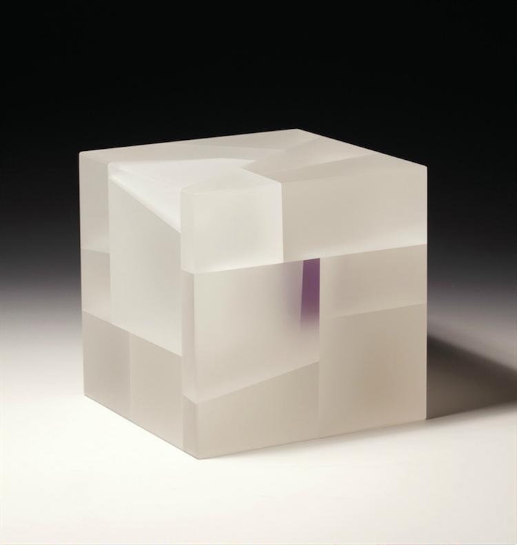 White-purple cube segmentation