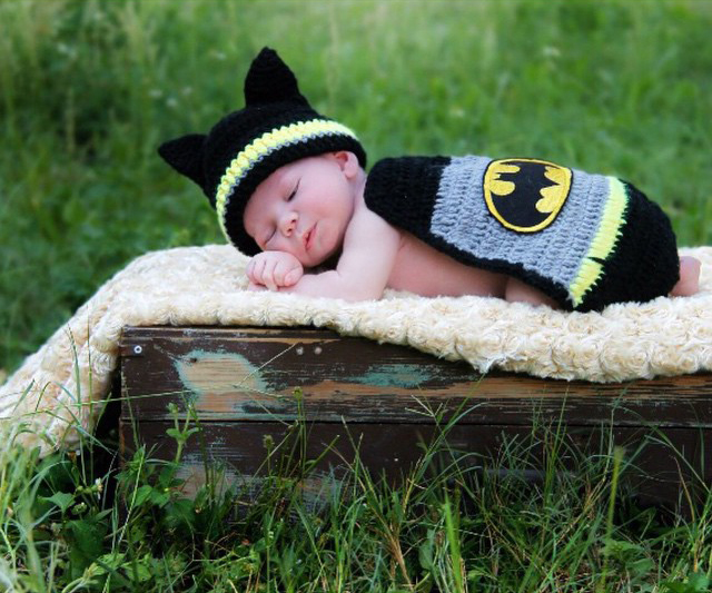 Newborn Batman