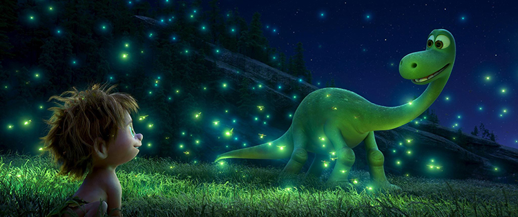 Kindness Brings a Dino and a Human Boy Together as Friends in Disney Pixar's New Trailer for 'The Good Dinosaur'