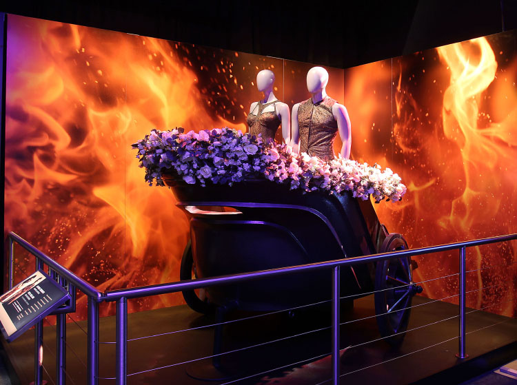 THE HUNGER GAMES: THE EXHIBITION at The Discovery Times Square Opening on July 1st