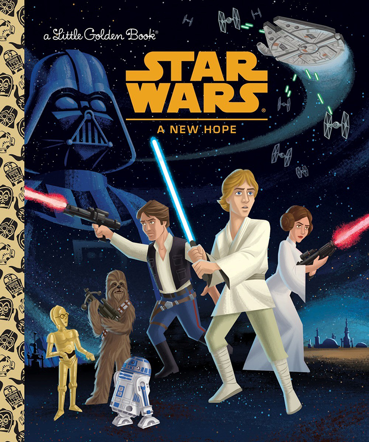A New Hope Golden Book