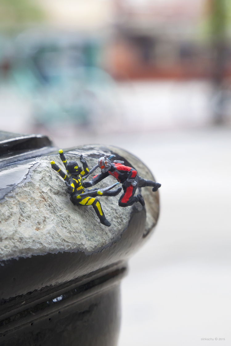 Ant-Man installations in London