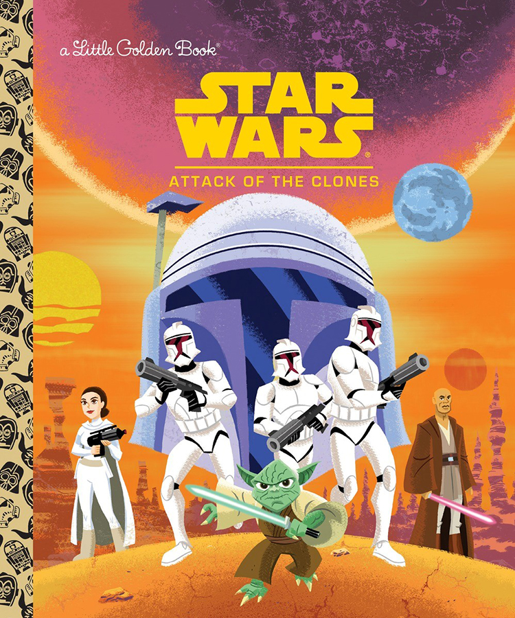Attack of the Clones Golden Book