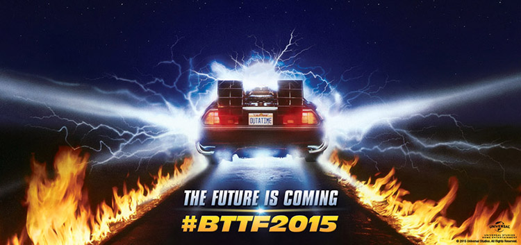 Back To The Future 30th Anniversary