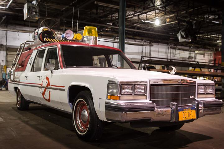 New Ghostbusters ECTO-1