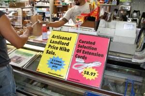 Artisanal Landlord Price Hike Sale