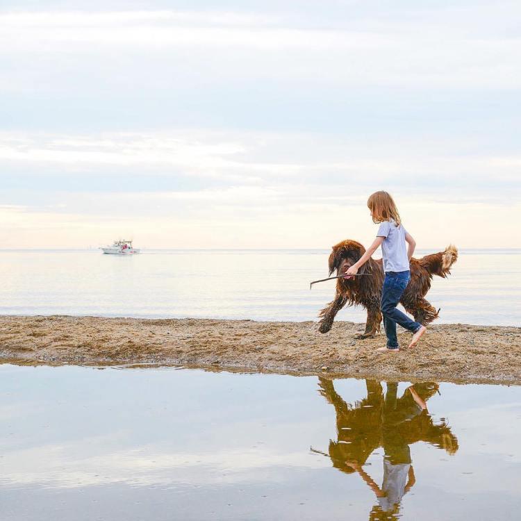Julien and Dog