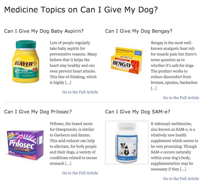 Medicine Topics