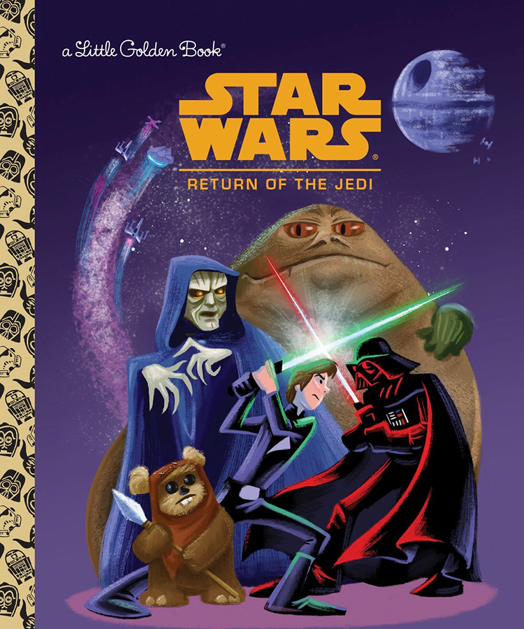 Return of the Jedi Golden Book