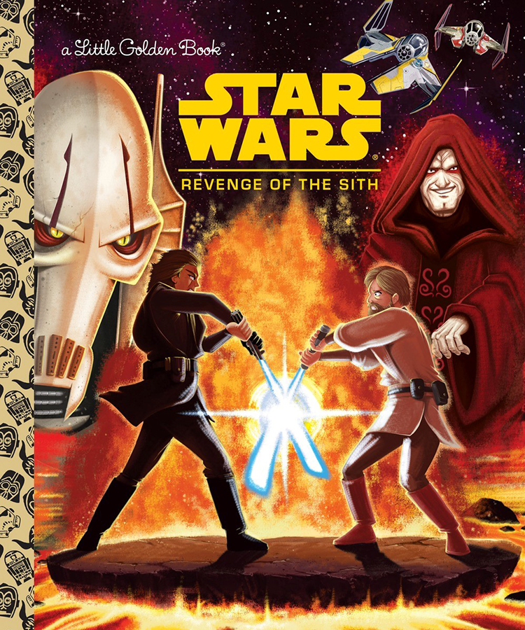 Revenge of the Sith Golden Book