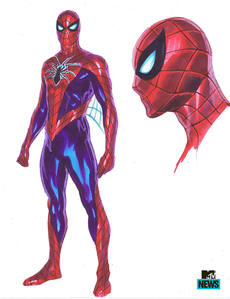 New Spiderman Suit and Spider-Mobile