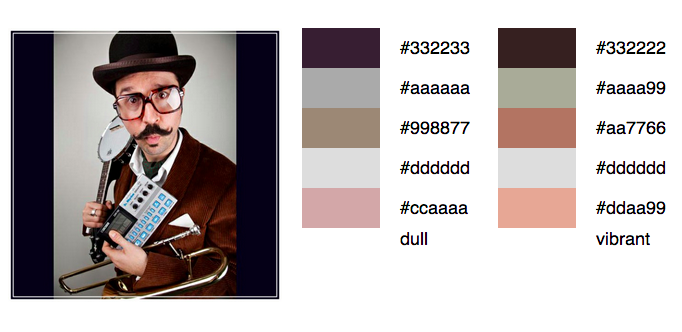 Mr. B the Gentleman Rhymer Palette