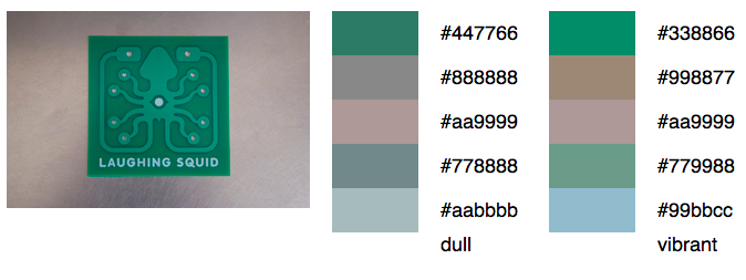 Laughing Squid Color Palette