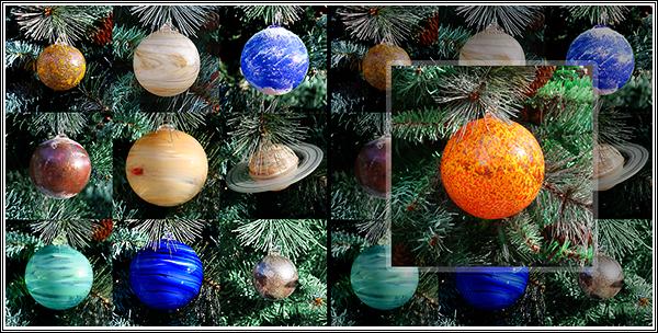 Solar System Ornaments