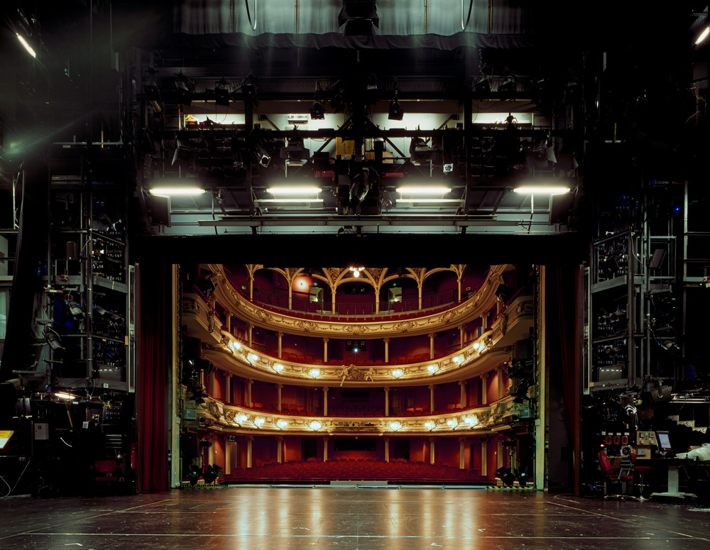 The Fourth Wall Haunting Photos Of Empty Stages Taken