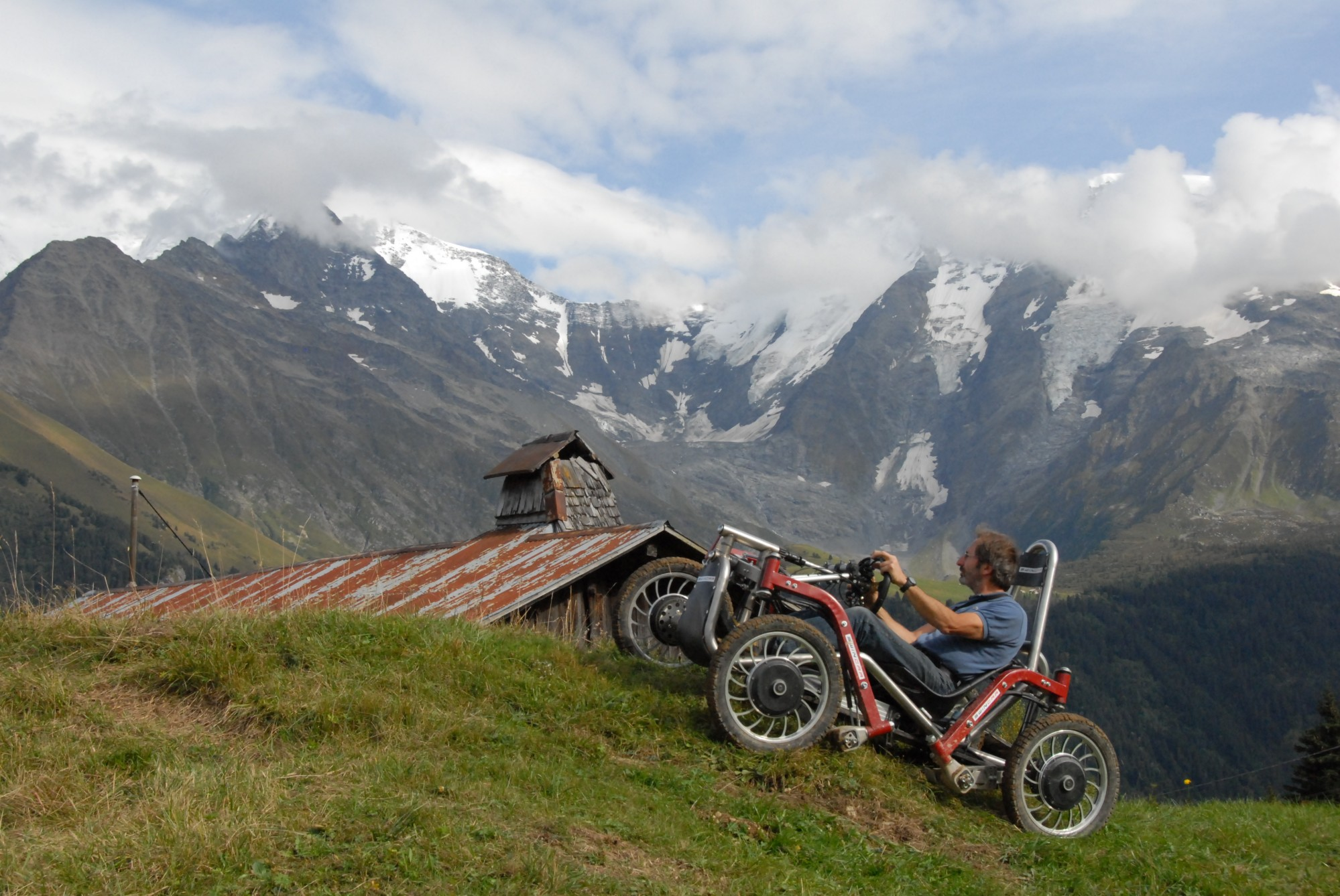 Swincar Spider, An Extremely Nimble Off-Road Electric Car