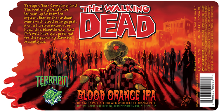 Terrapin Walking Dead Beer
