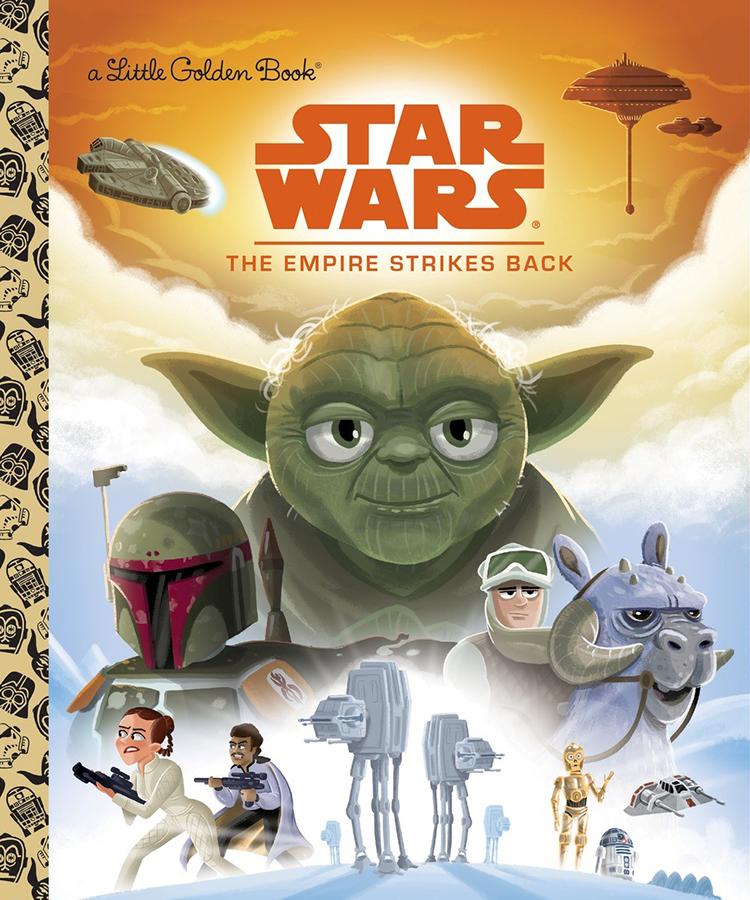 The Empire Strikes Back Golden Book