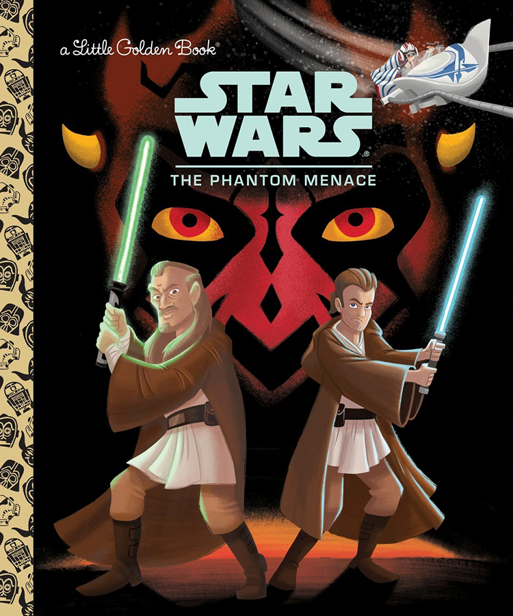 The Phantom Menace Golden Book