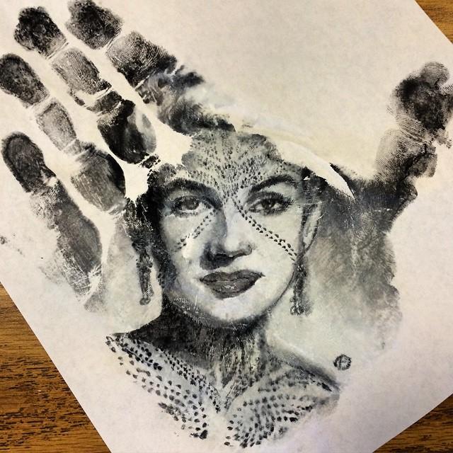 Vintage Marilyn Monroe Print