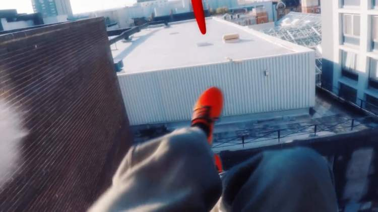 A Real-Life 'Mirror's Edge' Time Trial Created Using GoPro Footage