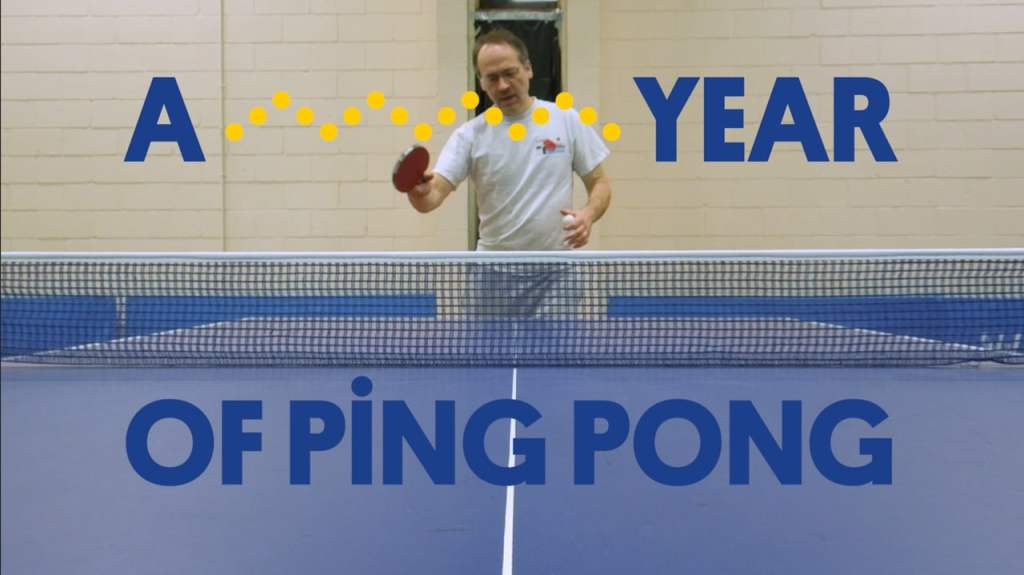 A Short Film That Follows Crossword Puzzle Editor Will Shortz as He Plays Ping Pong Every Day for a Year
