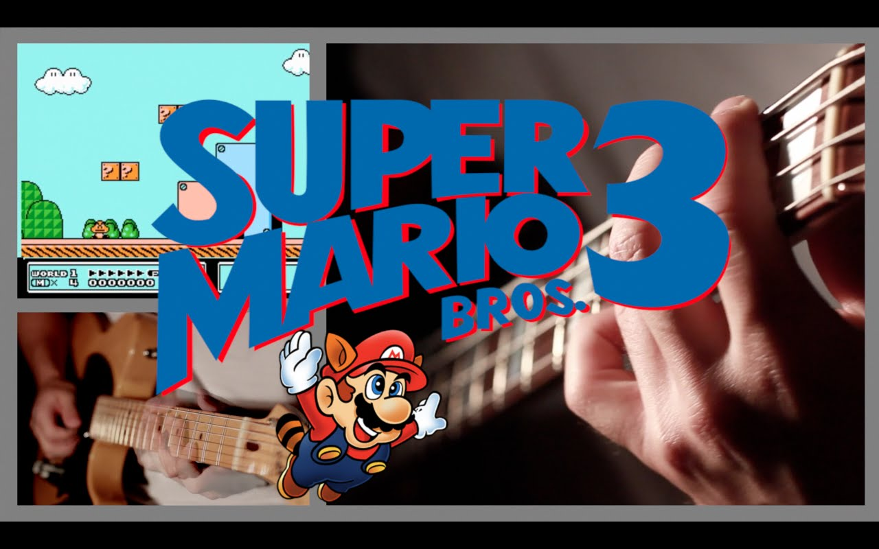 a wonderful cover of the super mario bros 3 soundtrack with all