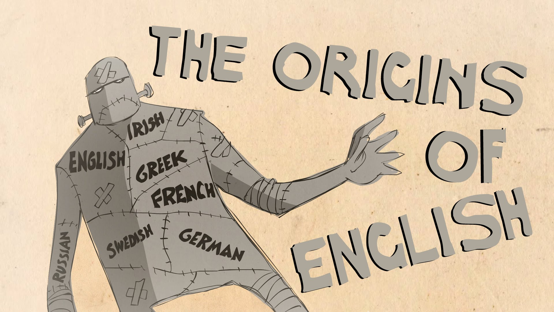 An Animated History Explaining How the English Language Evolved Throughout the Centuries