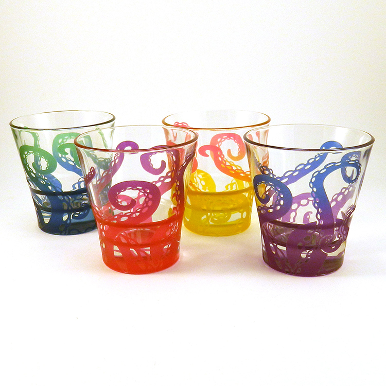Embracing Tentacles Shot Glasses