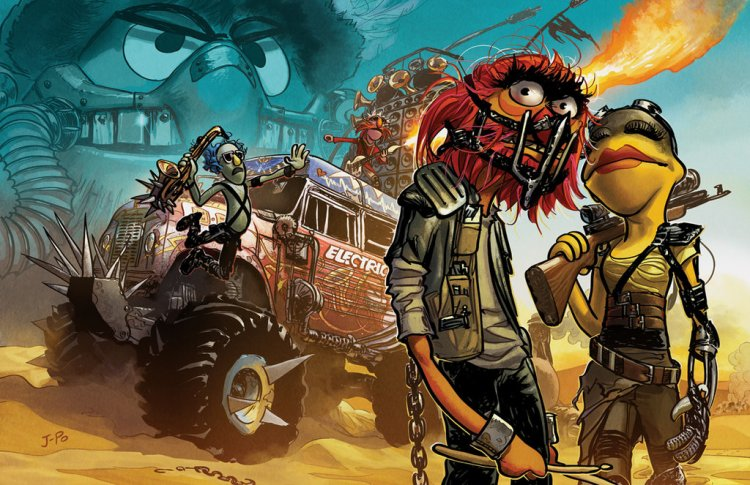 Mad Max Muppets