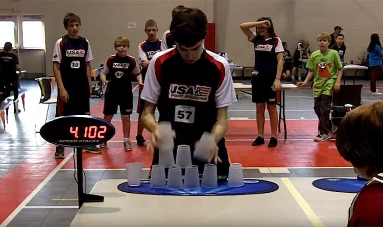 World Cup Stacking Record