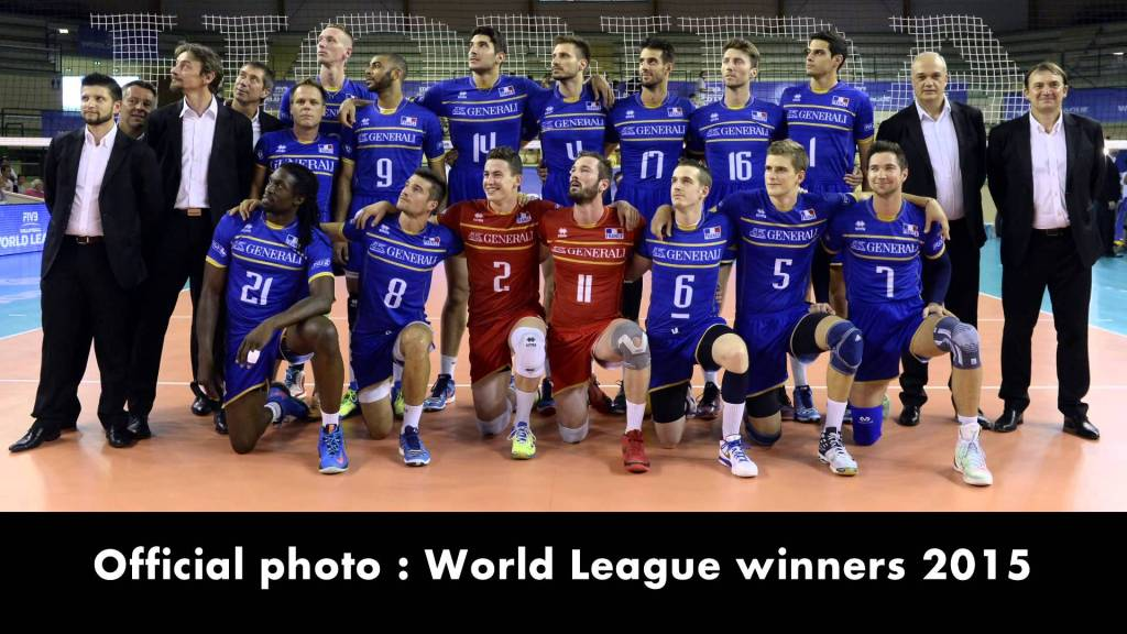 Rémi Gaillard Disguises Himself as France World Champion Volleyball Team Player and Sneaks Into Their Official Photo