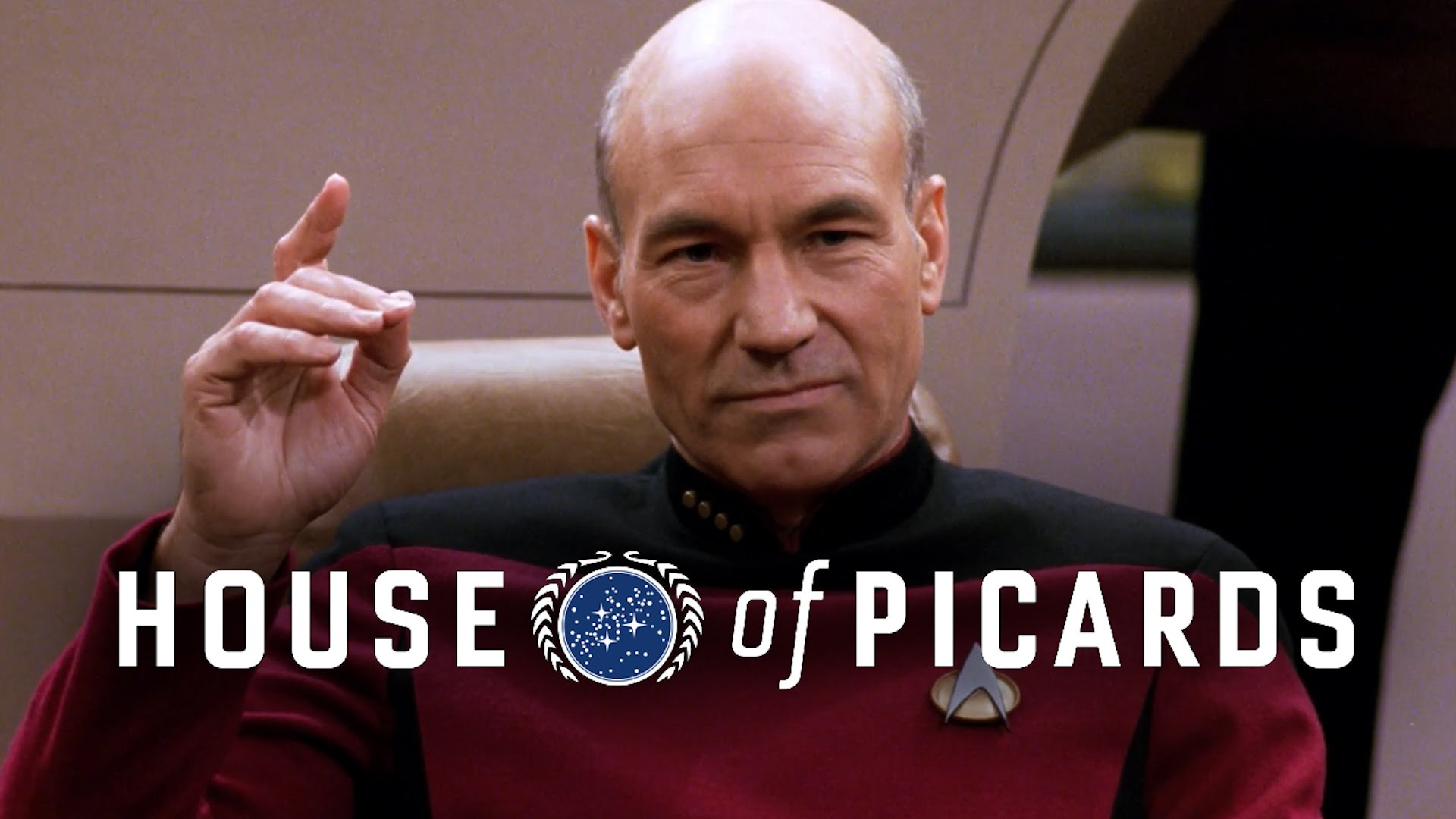 'The House of Picards', The Captain of 'Star Trek: TNG' Becomes as Ruthless as Frank Underwood in 'House of Cards'